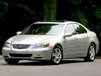 Каркасные шторки на Acura RL (с 2004 по 2008)