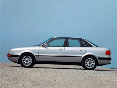 Каркасные шторки на Audi 80 B3 (с 1986 по 1991)