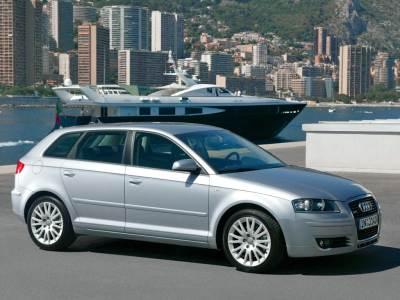 Каркасные шторки на Audi A3 8P (5-дв., с 2003 по 2008)