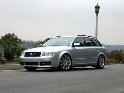 Каркасные шторки на Audi A4 B6 Avant (2001-2004)