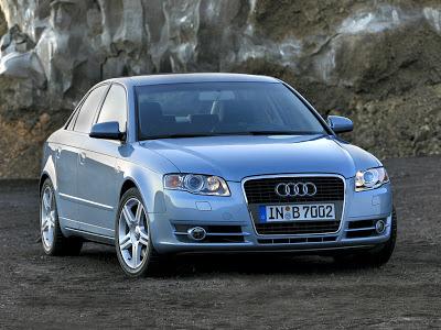 Каркасные шторки на Audi A4 B7 (2004-2007)