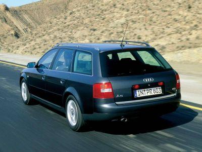 Каркасные шторки на Audi A6 C5 Avant (1998-2006)