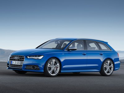 Каркасные шторки на Audi A6 C7 Avant (2011-2018)