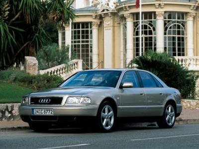 Каркасные шторки на Audi A8 D2 (с 1994 по 2002)