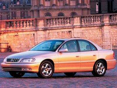 Каркасные шторки на Cadillac Catera (1997 - 2000)