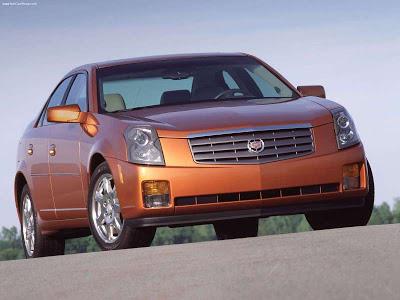 Каркасные шторки на Cadillac CTS 1 (с 2002 по 2007)