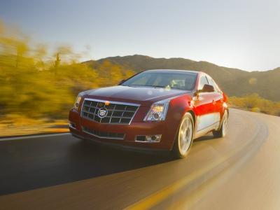 Каркасные шторки на Cadillac CTS 2 (с 2007 по н.в.)