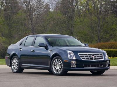 Каркасные шторки на Cadillac STS (2005 - 2011)