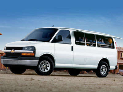 Каркасные шторки на Chevrolet Express (Минивэн, 4-дв., с 2002 по н.в.)
