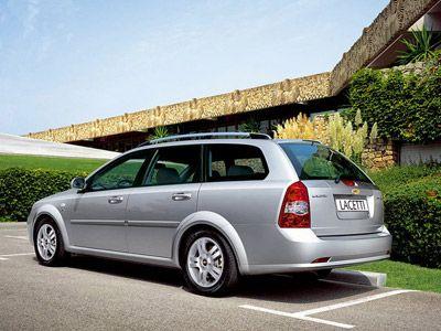Каркасные шторки на Chevrolet Lacetti универсал