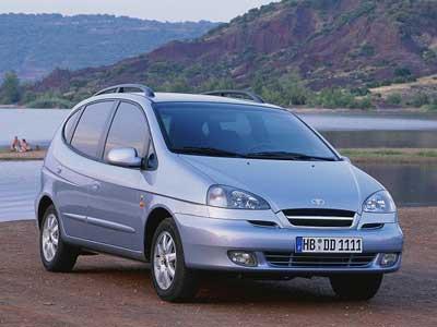 Каркасные шторки на Chevrolet Rezzo (2004 - 2008)