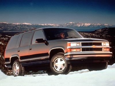 Каркасные шторки на Chevrolet Tahoe 1 GMT410 (с 1995 по 1999)