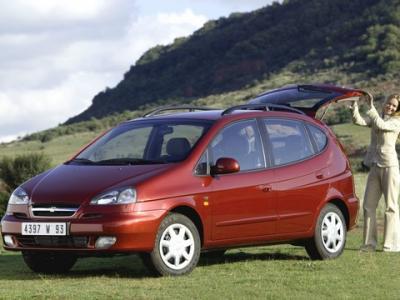 Каркасные шторки на Chevrolet Vivant (с 2004 по 2008)