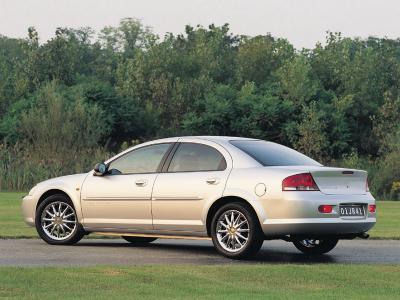Каркасные шторки на Chrysler Sebring JR (с 2000 по 2006)