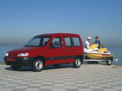 Каркасные шторки на Citroen Berlingo 1 (с 1996 по 2008)