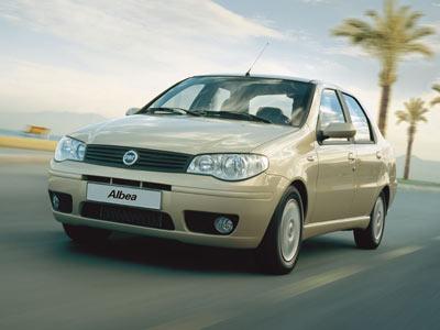 Каркасные шторки на Fiat Albea (с 2002 по 2014)