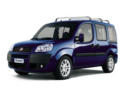 Каркасные шторки на Fiat Doblo (с 2001 по н.в.)