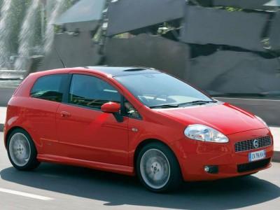Каркасные шторки на Fiat Grande Punto 3 (3-дв., с 2005 по 2012)