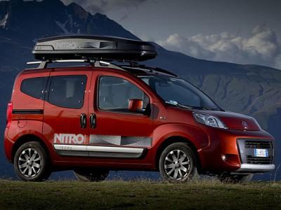 Каркасные шторки на Fiat Qubo Trekking 225 (с 2008 по н.в.)