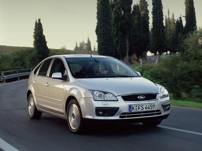 Каркасные шторки на Ford Focus 2 (5-дв., с 2004 по 2008)