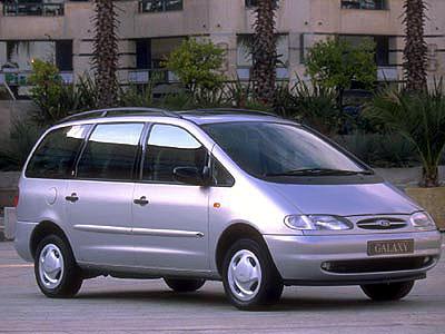 Каркасные шторки на Ford Galaxy 1 (с 1995 по 2006)