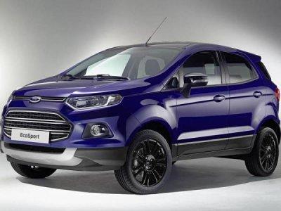 Каркасные шторки на Ford EcoSport (с 2012 по н.в.)