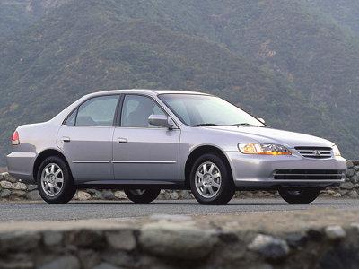 Каркасные шторки на Honda Accord (1998 - 2002)