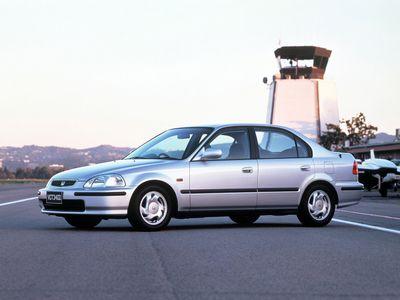 Каркасные шторки на Honda Civic 6 Ferio EK (с 1995 по 2000)