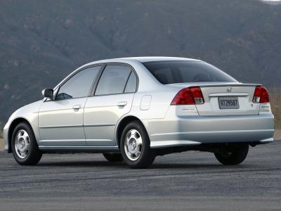 Каркасные шторки на Honda Civic 7 (с 2001 по 2006)