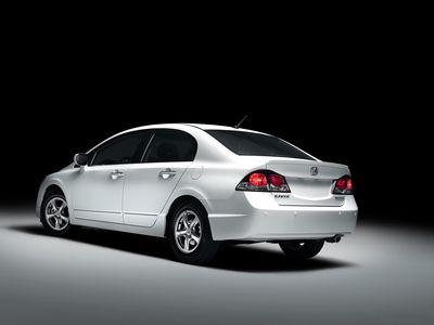 Каркасные шторки на Honda Civic 8 (с 2006 по 2011)