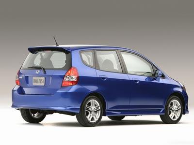 Каркасные шторки на Honda Fit US-spec GD (5-дв., с 2006 по 2008)