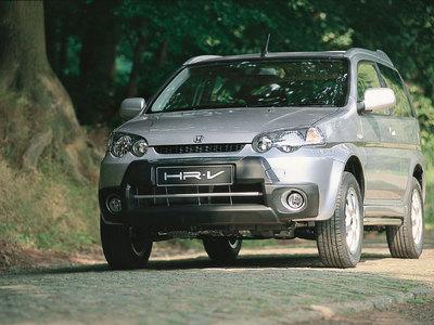 Каркасные шторки на Honda HR-V (с 1998 по 2005)