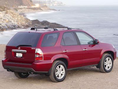 Каркасные шторки на Honda MDX 1 YD (с 2001 по 2003)