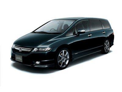 Каркасные шторки на Honda Odyssey 3 (с 2003 по 2008)