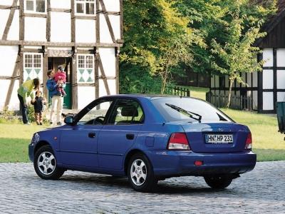 Каркасные шторки на Hyundai Accent 2 корейская сб. (с 2000 по 2006)