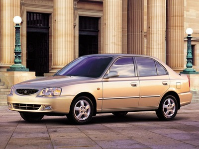 Каркасные шторки на Hyundai Accent 2 ТагАЗ (с 2001 по 2012)