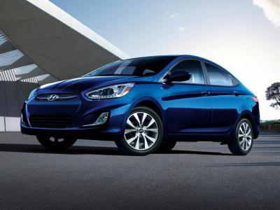 Каркасные шторки на Hyundai Accent 4 (с 2010 по н.в.)