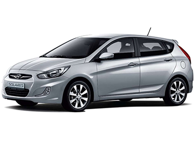 Каркасные шторки на Hyundai Accent Wit RB (5-дв., с 2011 по н.в.)
