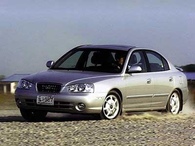 Каркасные шторки на Hyundai Avante XD (с 2000 по 2003)