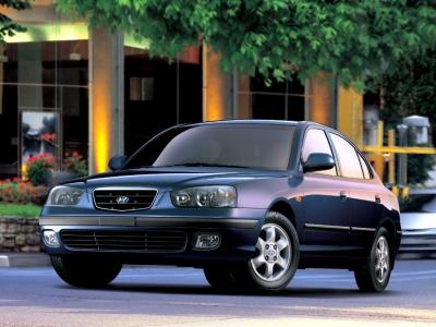 Каркасные шторки на Hyundai Elantra 3 XD (с 2000 по 2006)