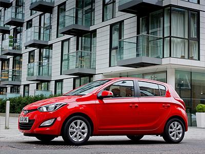 Каркасные шторки на Hyundai i20 (5-дв., с 2008 по н.в.)