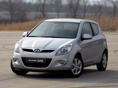 Каркасные шторки на Hyundai i20 (3-дв., с 2008 по 2014)