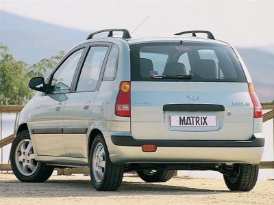 Каркасные шторки на Hyundai Matrix (с 2001 по 2010)