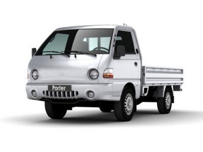 Каркасные шторки на Hyundai Porter 1 (Фургон, 2-дв., с 1996 по 2010)