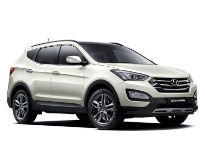 Каркасные шторки на Hyundai Santa Fe 3 DM (2012 - 2018)
