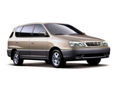 Каркасные шторки на Kia Carens (с 1999 по 2002)