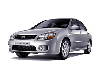 Каркасные шторки на Kia Cerato 1 седан (2004 - 2008)