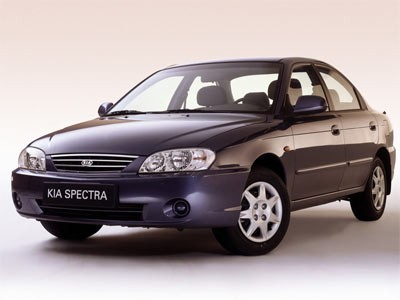 Каркасные шторки на Kia Spectra LD (с 2004 по 2009)