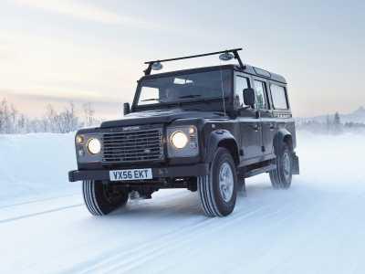 Каркасные шторки на Land Rover Defender 110 (с 1983 по н.в.)