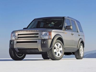 Каркасные шторки на Land Rover Discovery 3 (с 2004 по 2009)